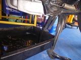 サイドスタンド修理準備 (2)