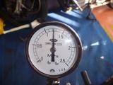 黄色い君レーサー用エンジン実圧縮圧力測定 (4)