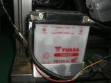 テストエンジン用バッテリー