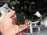 半袖一家Y様CB400Fバッテリー交換210213 (8)