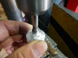 オイルパスキャップBセンサー取り付け用タップ加工 (3)