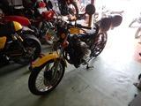 旧2号機も徳島絶版バイクミーティングの準備 (1)