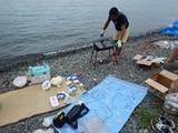 奥琵琶湖でBBQ (1)