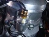 CPレーサーオイル漏れ処理 (1)