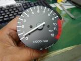 24号機用他車種流用タコメーター製作 (1)