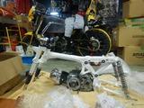 モンキーZ50Jフレーム組み立て201228 (7)