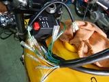旧CP1号レーサー改め24号機公道復帰への道その4電装部品加工完了 (2)