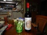 柏原産赤ワインと対戦&退治 (1)