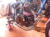 CB250Nエンジン搭載仕上げ (2)