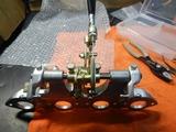 キャブレタープレートワイヤー引き修正 (3)