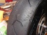 150803レーサーのタイヤ