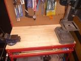 バイス台天板交換 (2)