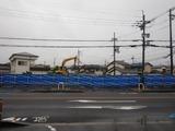 5月17日CP前空き地建設工事