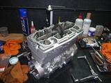 5年熟成398エンジン腰上組立て (4)