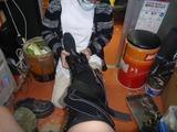 右足修理完了