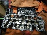 半袖一家Y様CB400Fエンジンカバー整備210413 (2)