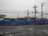 5月20日CP前空き地建設工事