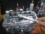 黄色い君レーサーエンジン組立て完了 (1)