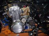 398改458エンジン組立て搭載 (12)