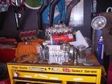 エンジン部品保管スペース確保 (1)