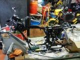 CB400国内398cc用純正部品取り付け (6)