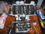 京都H号エンジン組立て (1)