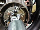 CB400F半袖一家Y様マフラー取付エンジン始動調整 (7)