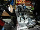 CB400F半袖一家Y様号内燃機加工終了腰上組み立て (8)
