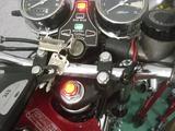 2号機速度警告灯取付け (3)