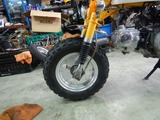 Z50Z前後タイヤホイール交換 (2)