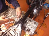 398コンプリートエンジンオイル漏れ修理 (3)