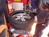 そして今日も車のタイヤ交換 (1)