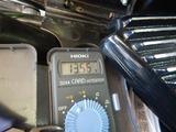 京都M号バッテリーチェックと発電量チェック (3)