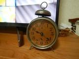 120年前のSEIKO製日本初の目覚まし時計か? (1)