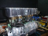 4号機エンジン腰中組立て (2)