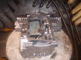 まっきーレーサー号エンジンロアケースブラスト (3)