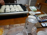 古川橋丸正本店冷凍餃子とシャリくろうま (2)