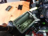 ZRX400福井K号ブレーキパット交換 (5)