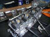 XJ400Dエンジン始動