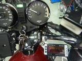 Z1000Mk�デジタルメーター取付け