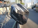 サーキット用ヘルメットホルダー製作 (7)