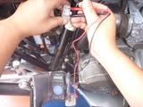 CB750FBレギュレーター抵抗値測定