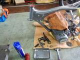 コムアキ号フレーム塗装完了組立て (5)