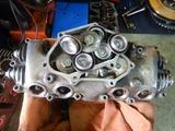 半袖一家Y様CB400Fエンジンカバー整備210413 (1)