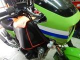 ZRX400福井K号ブレーキパット交換 (1)
