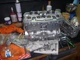 ヒロ爺号エンジン腰上組立て (2)