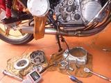 500cc化車両R側からの異音? (2)