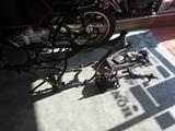 14号機フレーム小物塗装準備