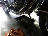 京都H号CB550F油温センサー交換 (2)