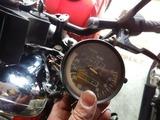 GSX250Eスピードメーター交換 (1)